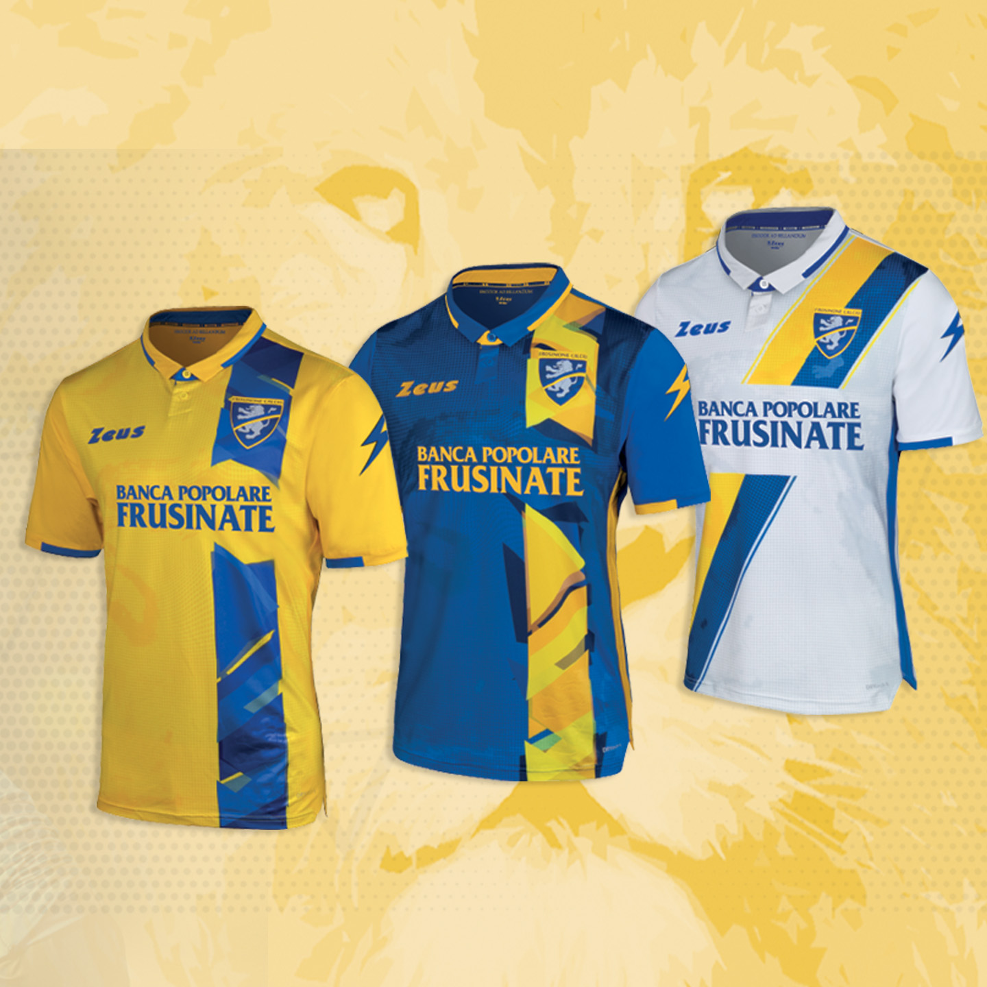 New Kit Frosinone Calcio