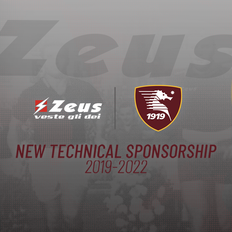 U.S. Salernitana con Zeus Sport
